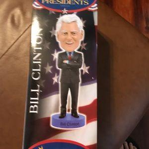 Royals Bobbles, Bill Clinton Bobble Head. New